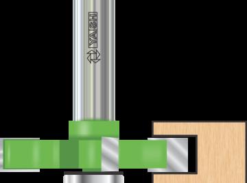 Rebating Bits (Grooving) - Yash Tooling System